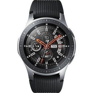 Умные часы Samsung Galaxy Watch 46мм 1.3 Super AMOLED серебристый (SM-R800NZSASER)