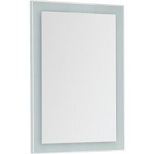 Зеркало Dreja Kvadro 60 белый (77.9011W)