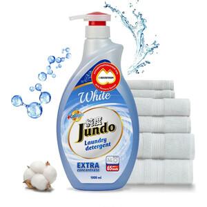 Гель для стирки Jundo White концентрированный, для стирки белого белья 1 л, 65 стирок цены