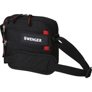 цена на Сумка Wenger Horizontal Accessory Bag для докум. черная/красная 18322135