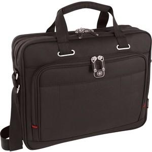 Портфель для ноутбука Wenger 16 черный, 41x15x34 см, 12 л 600645 цена и фото