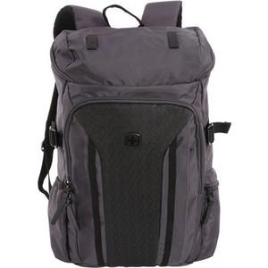 Рюкзак Wenger 15 серый/черный 2717422408