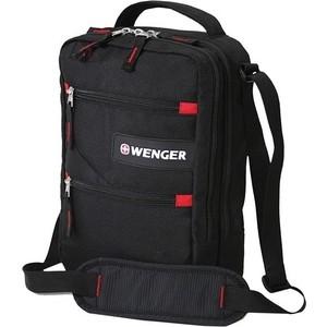 Сумка Wenger Mini Vertical Boarding Bag для докум. черная/красная 18262166