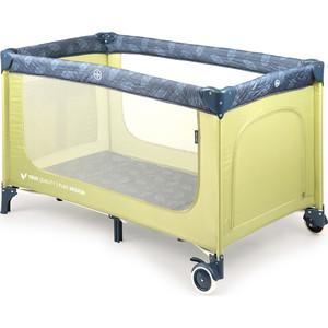 Кровать манеж Happy Baby MARTIN GRASS манеж baby care arena бежево корчнвый ob 888