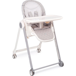 Стульчик для кормления Happy Baby BERNY BASIC NEW LIGHT GREY happy baby passenger grey