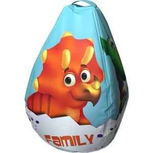 Мешок-Рюкзак-Подушка Dino Baby (голубой)