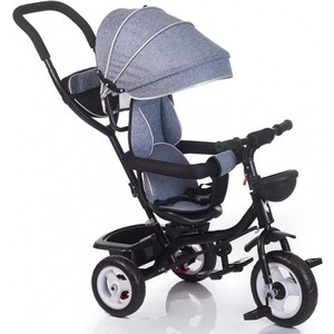 Велосипед 3-х колесный BabyHit KIDS RIDE - GREY Серый
