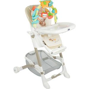 Фото - Стульчик для кормления Cam ИСТАНТЕ, складной, 7 пол высоты, (беж/мишка) стульчик для кормления cam pappananna цвет 240
