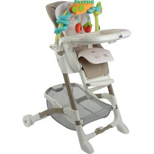 Стульчик для кормления Cam ИСТАНТЕ, складной, 7 пол высоты, (беж/рис. мишка) стульчик для кормления cam istante цвет 225
