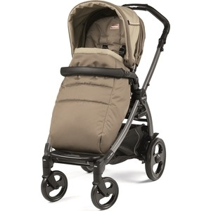 Коляска прогулочная Peg-Perego BOOK PLUS POP UP, с шасси BOOK 51 TITANIA Class Beige playtime a class book