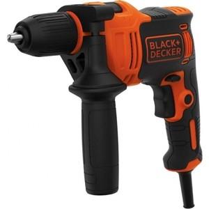 Дрель ударная Black+Decker BEH550-QS дрель ударная black decker beh550 qs