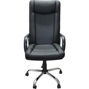 Кресло Союз мебель Галант подлокотник пластик, крестовина хром