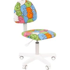 Кресло Chairman Kids 104 ткань котики