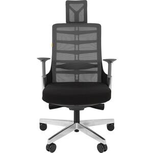 Офисноекресло Chairman Spinelly черный кресло chairman 681 с3 черный 1188132