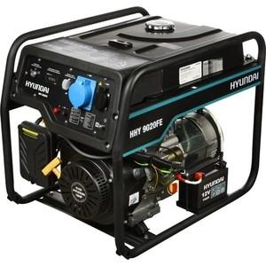 Бензиновый генератор Hyundai HHY 9020FE генератор бензиновый hyundai hhy 9000fe ats колеса