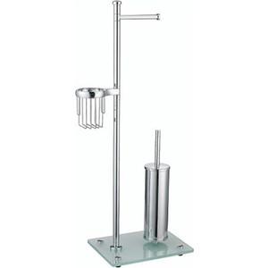 Стойка для туалета Wasserkraft K-1264 напольная стойка для ванной комнаты wasserkraft напольная комбинированная k 1256