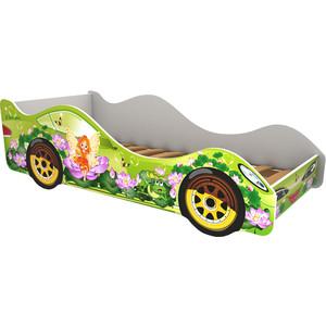 Кровать-машина Бельмарко Сказка кровать машина бельмарко вихрь 160x70