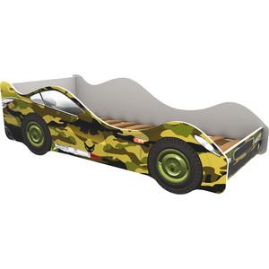 Кровать-машина Бельмарко Хаки 160x70
