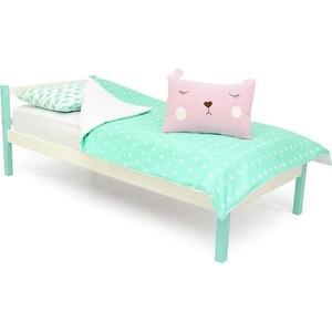 Детская кровать Бельмарко Skogen classic мятно-белый цены
