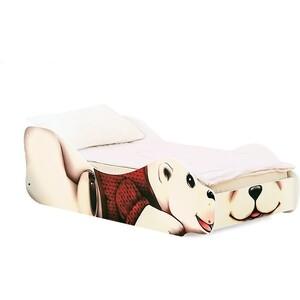 цены Кровать Бельмарко Зверята полярный мишка Умка