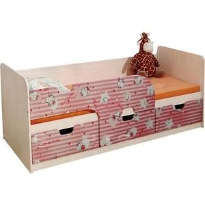 Кровать детская БТС Минима хеллоу китти