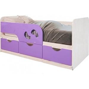 Кровать детская БТС Минима лего 80x160 лиловый