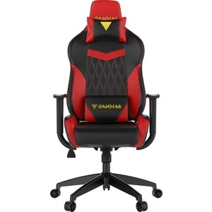 Кресло компьютерное Gamdias Hercules E2 black-red кресло компьютерное gamdias hercules m1 black red air rgb