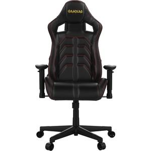 Кресло компьютерное Gamdias Ulisses MF1 black-red кресло компьютерное gamdias ulisses mf1 black yellow