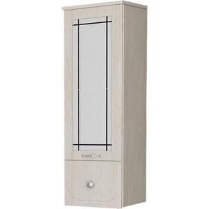Полупенал Dreja Antia 30 1 дверка со стеклом, ящик, капучино, правый (99.0417)
