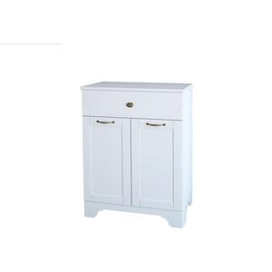 Тумба Dreja Antia 60 2 дверки, 1 ящик, белый (99.0430)