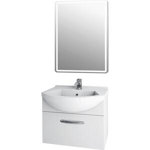 Мебель для ванной Dreja Alfa 55 с ящиками, белый