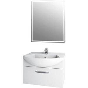 Мебель для ванной Dreja Alfa 65 с ящиками, белый