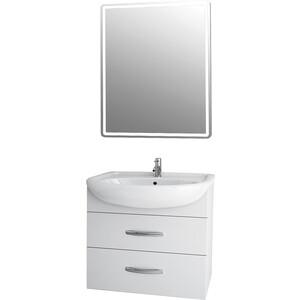 Мебель для ванной Dreja Alda 65 2 ящика, белый