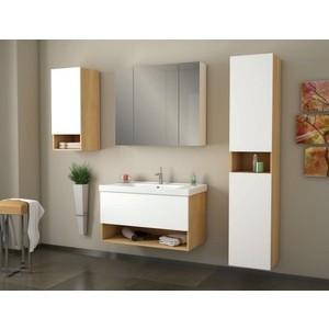 Мебель для ванной Dreja Perfecto 90 дуб/белый лак стоимость