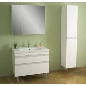 Мебель для ванной Dreja Grace Plus 90 два ящика, белый лак
