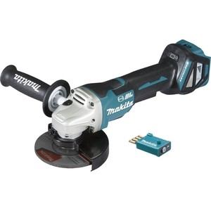 Шлифмашина Makita DGA518ZU шлифмашина угл makita dga518zu ф125мм 18в li ion 3000 8500 м aws bluetooth anti rest