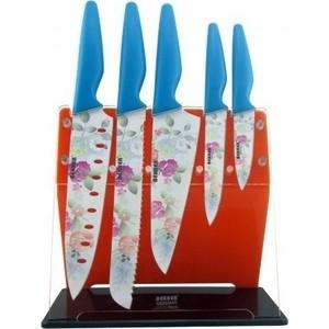 Набор ножей 6 предметов Bekker (BK-8446) набор ножей bekker 6 предметов цвет голубой bk 8446