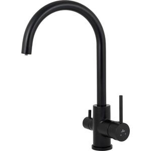 Смеситель для кухни Kaiser Merkur бок под фильтр черный матовый Black-Mat (26744-9)