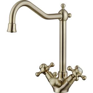 Смеситель для кухни Kaiser Carlson Style под фильтр, Bronze бронза (44333-1)