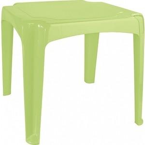 Стол Детский Бытпласт Пластишка 520х520х475 Мм (Зеленый)