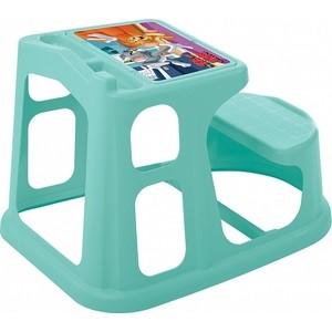 Стол-Парта Детская Бытпласт С Аппликацией Том И Джерри 550х730х500 Мм (Зеленый)