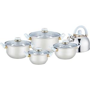 Набор посуды 9 предметов Bekker Classic (BK-4601) цены онлайн