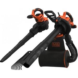 Садовый пылесос-воздуходувка Black+Decker BEBLV301-QS пылесос black