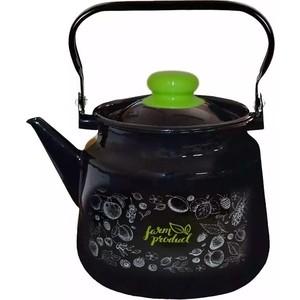 Чайник эмалированный 3,5 л Appetite Berry (1с26с)
