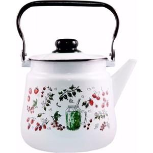 Чайник эмалированный 3,5 л Appetite Compote (1с26с)