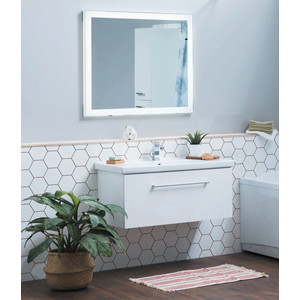 цена на Мебель для ванной Dreja Big Inn 80 белый