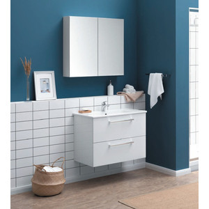 Мебель для ванной Dreja Gio 80 белый мебель для ванной dreja gio 60 дуб кантри