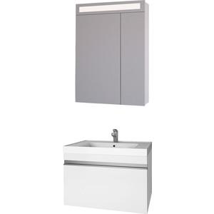Мебель для ванной Dreja Grace 60 с ящиком, белый лак