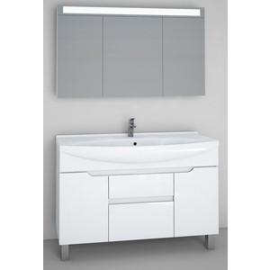 Мебель для ванной Dreja Laguna Plus 120 белый лак для ванной лак