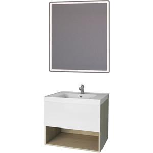 Мебель для ванной Dreja Perfecto 60 дуб/белый лак
